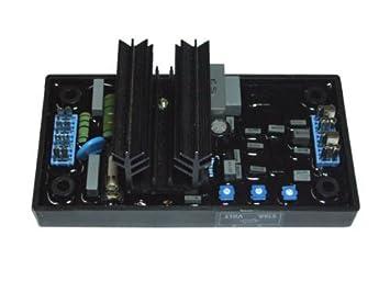 fengye Universal generador regulador de voltaje AVR R230 automático electrónico tarjeta de memoria para leroy-somer: Amazon.es: Jardín