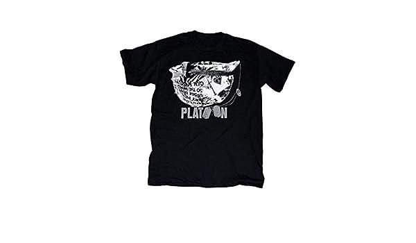 platoon Helmet T Shirt when i die bury me upside down sheen army Charlie movie