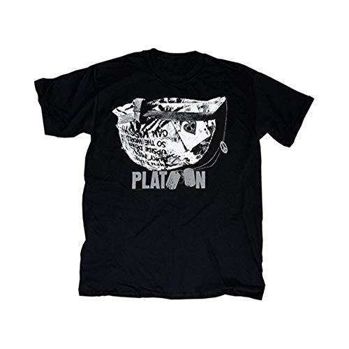 Buy platoon movie helmet black t-shirt tee