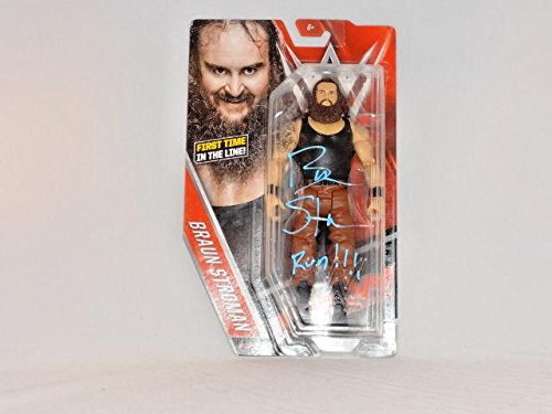 Braun Strowman Wwe Signed Mattel Action Figure 3 Wyatt Family Rare - PSA/DNA Certified - Autographed Wrestling Miscellaneous Items