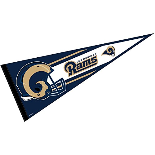 Los Angeles Rams Official NFL 30 inch Large Pennant