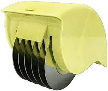PerGrate Taux de feuillets Appareil de Roues de Coupe en Acier Inoxydable de l/égume de Cuisine Oignons hackten Verts Poivre-Presse Ail Vert