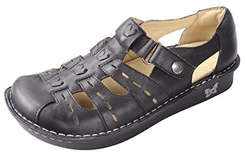 Alegria Women's Black Matte Pesca Leather 36 M EU