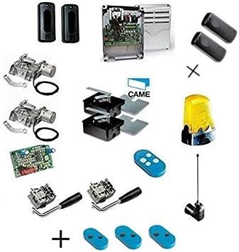 Came Promo Kit FROG AE Automatización de puertas batientes Motor enterrado hasta 3,5 m para puerta 001U1924 con 2 cajas de base FROG incluidas 001U1985 + 001DIR10 Par de fotocélulas: Amazon.es: Bricolaje