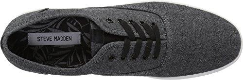 Steve Madden Mens Franco Sneaker Zwart