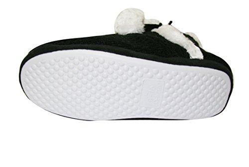 Shoelace Womens Indoor Sherpa Slip on Slippers Warm Bootie Shoes (SLL) (Sll-6109)-white mbFhjO4