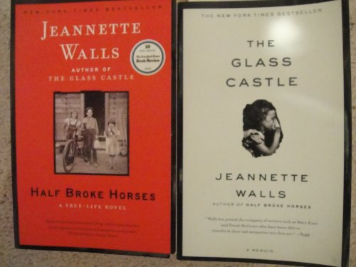 Jeannette Walls 2 Book Collection: The Glass Castle & Half Broke Horses - Castle Collection Wall