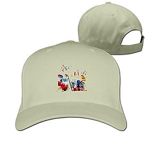 Odr KOPWIEA Mens Music Dreams Casual Style Hip-Hop Natural Caps Hats Adjustable Snapback