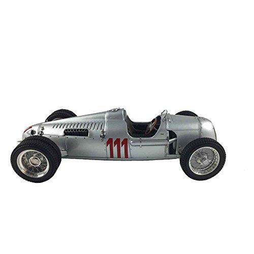 Auto Union Race Cars - CMC-Classic Model Cars Auto Union Type C 1937 German Hillclimb #111 Struck Limited Edition Vehicle