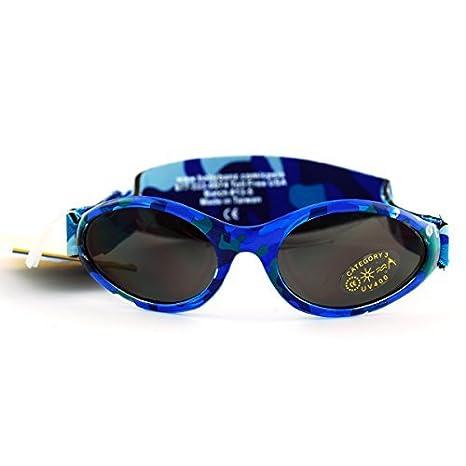 Aventura Banz gafas de sol para bebés, Nordic Camo, Bebés 0 ...