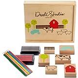 Dwellstudio Stamp Set, Farm (Discontinued by Manufacturer)