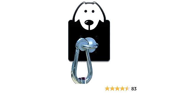gancho de pared para perro con mosquetón de acero inoxidable, correa de liberación rápida para comercio exterior, jardín, farmacia, panadería y ...