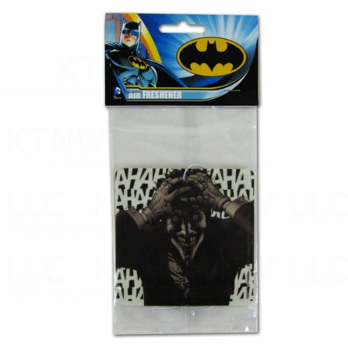 DC+Comics Products : Officially Licensed DC Comics Hanging Air Freshener - Joker Apple Scent