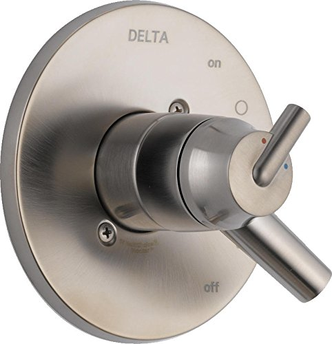 Delta Faucet T17059-SS Trinsic, 17 Series MultiChoice Valve Trim, Stainless by DELTA FAUCET
