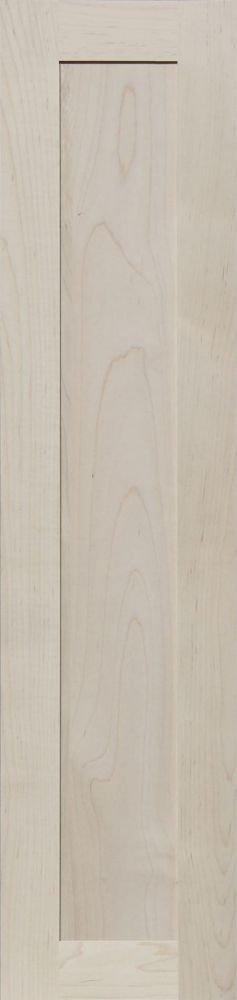 Unfinished Oak Shaker Cabinet Door by Kendor 31H x 9W