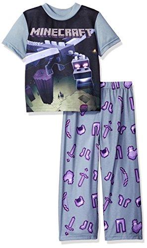Minecraft Boys Short Sleeve Pajama product image