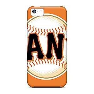 High Quality Mialisabblake Sf Giants Skin Case Cover Specially Designed For Iphone - 5c
