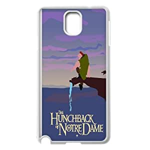 Samsung Galaxy Note 3 Cell Phone Case White Hunchback of Notre Dame Gjcmf