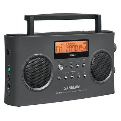 Sangean FM-Stereo RDS (RBDS) / AM Digital Tuning Portable Receiver