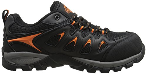 Harley-Davidson Eastfield Waterproof Hiker Ct, Schwarz, 42 EU / 7.5 UK / 8.5 US