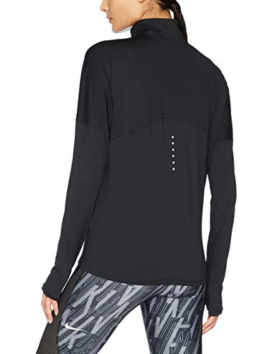 Nike Women's Dry Element Running Top Black Size Small by Nike (Image #2)