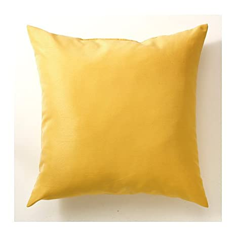 IKEA ULLKAKTUS - Cojín, amarillo oscuro - 50x50 cm: Amazon ...