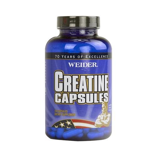 2 Packs of Weider Creatine Capsules - 150 Capsules