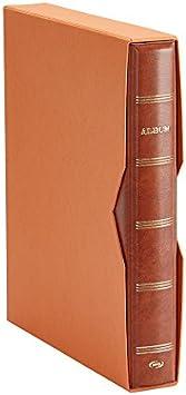 Pardo 127506 - Album para colección de artículos, color marrón: Amazon.es: Oficina y papelería