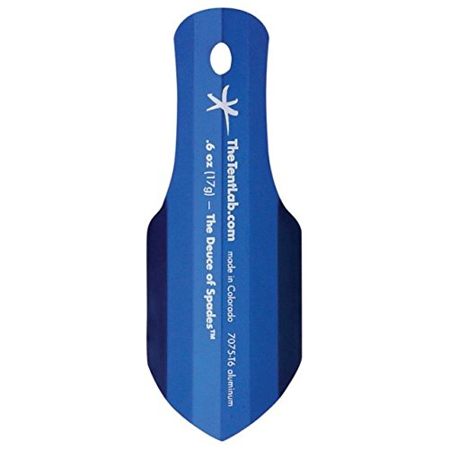 The Deuce Ultralight .6oz Backpacking potty Trowel gold