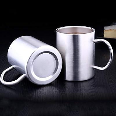 ypypiaol - Taza de Acero Inoxidable de Doble Pared, sin BPA, Apta ...