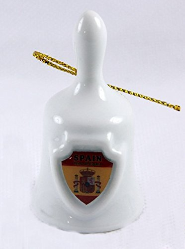 Spain Collectible Mini Bell Lpco 2 1/8