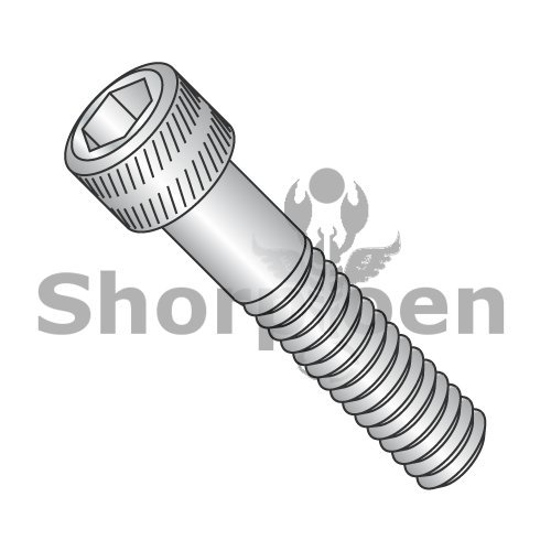 Coarse Thread Socket Head Cap Screw Stainless Steel 6-32 x 3/8 BC-0606CSSS (Box of 100) weight 0.25 Lbs (Lb Head 0.25)