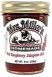 Mrs Millers Jalapeno Red Raspberry Jam 3 x 8oz