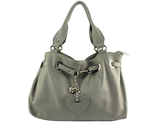 femme cuir main Sac julie Coloris sac main julie julie sac Italie cuir sac à Gris sac chloly Plusieurs femme a Clair Julie 6wpwBx