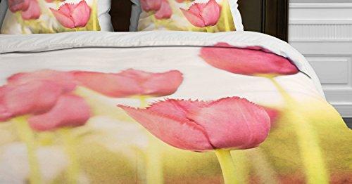 Deny Designs Bree Madden Tulips Duvet Cover, King ()