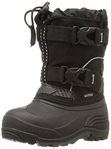 Kamik Ijzige Sneeuw Boot (peuter / Klein Kind / Grote Jongen) Zwart