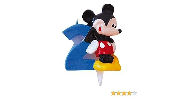Mickey Mouse - Vela Nº 2 (Verbetena 014000392)