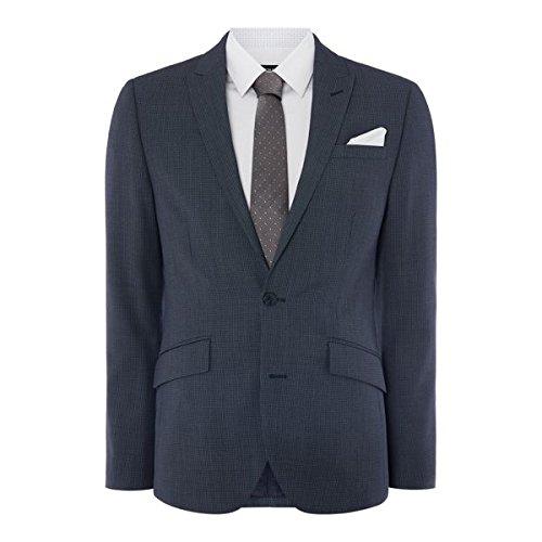 [ケネスコール] メンズ ジャケット&ブルゾン Boston Slim Fit Birdseye Suit Jacket [並行輸入品] B07F35ZC1R 38 Regular