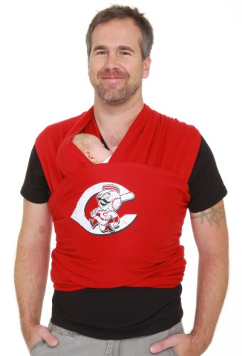 Moby Wrap MLB Edition Baby Carrier, Reds Discontinued by Manufacturer