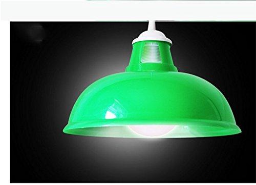 CGHYY Acrylic Color Plastic Chandeliers Caliber 39Cm Green