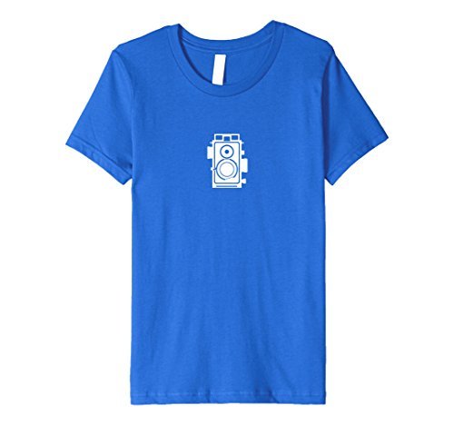 unisex-child TLR Retro Camera Icon Color Photography T-Shirt 6 Royal Blue