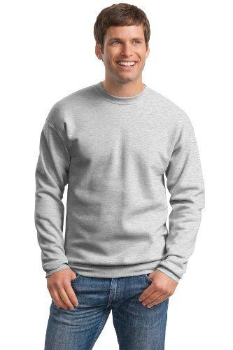 Hanes ComfortBlend EcoSmart Crew Sweatshirt_Ash_XL