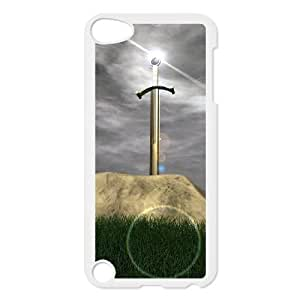 Ipod Touch 5 Phone Case Disney cartoon Sword in the Stone Protective Cell Phone Cases Cover DFK082311