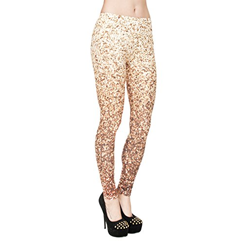 Pop Fashion Brightly Leggings Footless product image