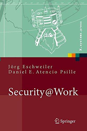 Security@Work: Pragmatische Konzeption und Implementierung von IT-Sicherheit mit Lösungsbeispielen auf Open-Source-Basis: Pragmatische Konzeption Und ... Auf Open-Source-Basis (X.systems.press) Gebundenes Buch – 6. Juli 2006 Jörg Eschweiler Daniel E. Atenc