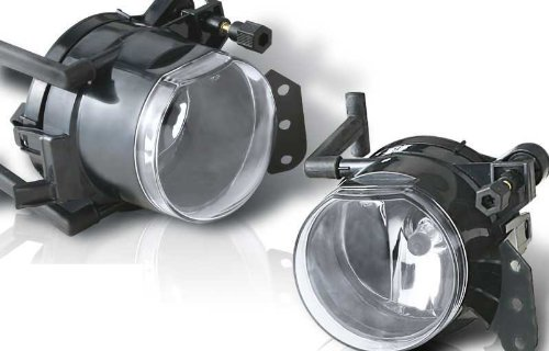 Bmw 5 Series E60 525 530 545 550 I Xi 04 05 06 07 Fog Light Lamp With Bulb Pair