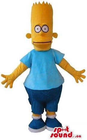 Amazon バートシンプソンは 漫画のキャラクターは マスコットカナダ衣装仮装をspotsound コスプレ 仮装 通販