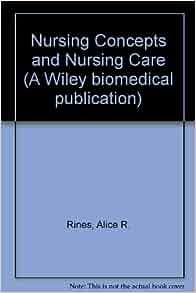 Alice R. Rines, Mildred L. Montag: 9780471722458: Amazon.com: Books