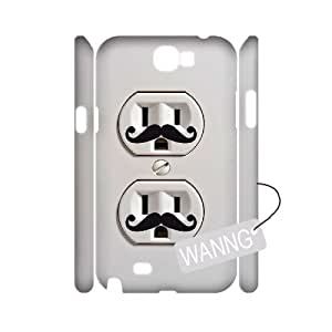 Electric Outlet Samsung Galaxy Note2 N7100 3D Case Cover, Electric Outlet DIY Case for Samsung Galaxy Note2 N7100 at WANNG