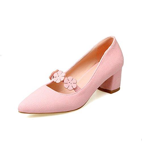 Femmes Amp; Cuir Us5 Vert Fleur Comfort Piscine Chaussures Pour Ewq477WZPa